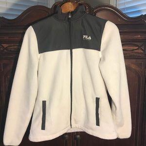 Women's Fila Sport Jacket White Small